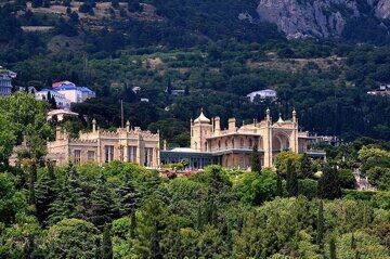 Воронцовский дворец алупка